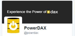PowerDAX Twitter