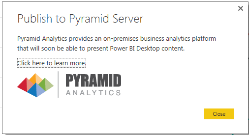 Power BI Pyramid Analytics